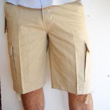 Bermuda pantaloncino uomo mare estivo capri cargo short tasche pantaloni corti