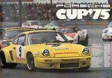 Porsche CUP 1975 Vintage Poster Print on Paper/Canvas