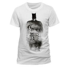 Official Batman Silhouette T-Shirt Justice League White S M L XL XXL