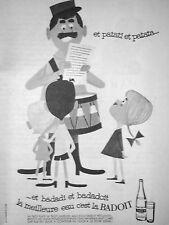 PUBLICITÉ 1960 BADOIT ET PATATI ET PATATA LA MEILLEUR EAU - LE FACTEUR