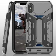 [Carbon Fiber] Shockproof Slim Dual Layer Military-Grade Defender Case iPhone X