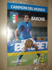 MEDAGLIA N° 23 ITALIA CAMPIONI DEL MONDO 2006 BARONE