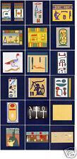 Ceramic Mural Backsplash Bath Egyptian Art Tile #99