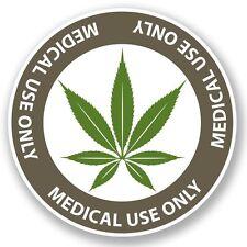 2 x Cannabis Vinyl Sticker Laptop Travel Luggage #4652