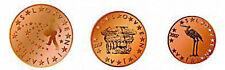 Slovenia 2007 - Mini Set of 3 Euro Coins (UNC)