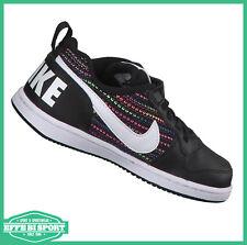 newest c1797 1b4e9 Scarpa Nike court borough bambina ragazza sneakers moda tempo libero  palestra