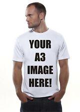 A3 immagine stampata T-Shirt-Personalizzata e personalizzato. Stag, Gallina, divertente, PROMOZIONE