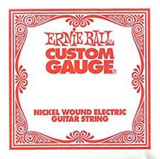Ernie Ball Nickel Wound Custom Gauge Electric Guitar Strings 6-Pack