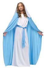 Biblical Virgin Mary Costume Girls Child Religious Christmas Halloween Bible