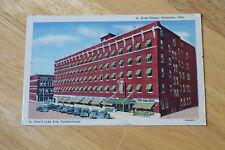 Old Vintage Postcard Hotel Rieger Sandusky Ohio, Ohio's Lake Erie Vacationland
