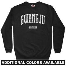 Gwangju Korea Men's Sweatshirt - Crewneck S-3X - Gift South Korean FC Kia Tigers