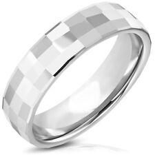 BAGUE ALLIANCE ACIER PLAQUE NOIR PACS MARIAGE FIANCAILLE GAY 2 HOMMES NEUF M3042