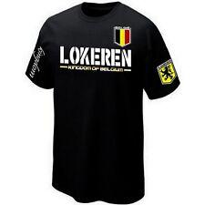 T-Shirt LOKEREN VLAANDEREN FLANDRE BELGIË BELGIUM ultras- Maillot Belgique