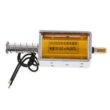 High Quality DC 34mm Stroke Pull Push Linear Tubular Solenoid