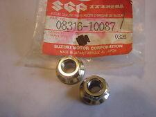 NOS Suzuki Nut Cylinder RM125 RM80 RM50 LT125 08316-10087 Qty 2