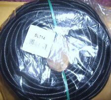 "1/4"" Split Wire Loom Conduit 100Ft. Polyethylene Tubing Car Audio Power Install"