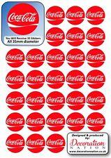 Coca Cola Logo STICKERS Decoration Fun Kids Adults Fizzy Drink Coke
