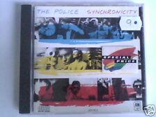 POLICE Synchronicity cd FRANCE