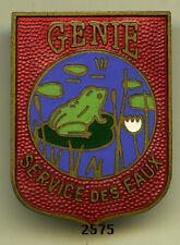 Insigne génie , SERVICE des EAUX  -  382 / 6   ( grenouille  )