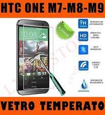Pellicola in vetro TEMPERATO per HTC One M7 M8 M9 Proteggi SCHERMO Antigraffio