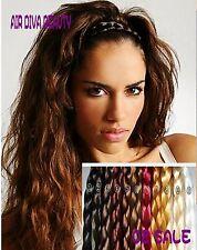 Women Girl Braided Fairy Bohemian Braid Wig Wedding Beach hair look headband