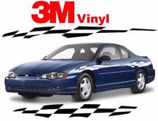 Monte Carlo Checker Flag decal stripe graphics pace car 3M vinyl