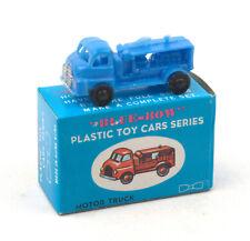Vintage Blue-Bow (Hong Kong) Plastic Motor Truck * Matchbox 1-75 Copy *