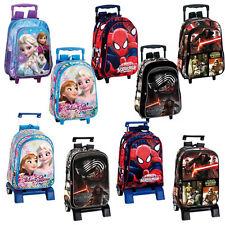 Trolley Rucksack Schultrolley Reisetrolley Kindertrolley Spiderman Star Wars