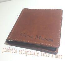 porta carte tessere credito  patente banconote contante soldi euro in pelle