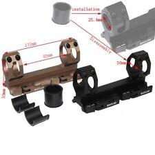 Tactical 25.4mm 30mm Rings Mount Weaver Standard Rail Bases Quick Detach Mounts