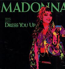 """MADONNA 'DRESS YOU UP' ORIGINAL 85 GERMAN 12"""" SINGLE"""