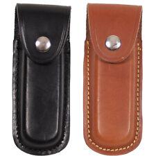 Fox Cuchillo Estuche Cuero Bolsillo Cinturón Taschenmesseretui hasta 11 Cm