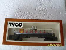VINTAGE TYCO HO SCALE 40' SINGLE DOME TANK CAR SHELL OIL CHROME TANK CAR