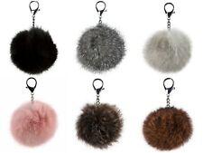 trendfuxx - Fellbommel Anhänger - Pelzbommel für Handtasche, Schlüsselanhänger