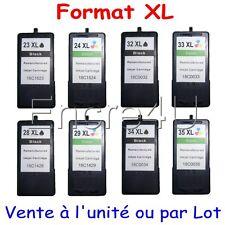Cartouches d'encre compat. Lexmark X3530 X3550 X4450 ( 23 XL 24 XL 34 XL 35 XL )