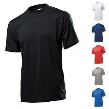 Herren Mann Kurzarm Basic T-Shirt Shirts Stedman Classic T Größe 3XL ST2000