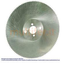 Lama circolare a disco per troncatrice lenta in diametri e misure varie - lame