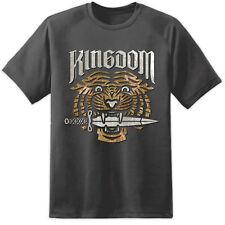 Mens Walking Dead KINGDOM Distressed T Shirt Negan Rik Daryl Lucile Hilltop TV