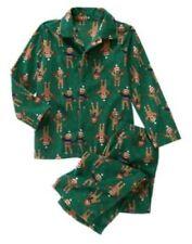 NWT Gymboree Christmas Fleece Pajamas Set Boys Girls Monkeys Holiday