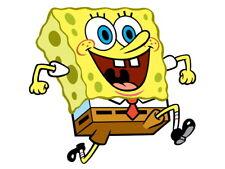 SpongeBob SquarePants Funny Happy Smile Kids Cartoon Giant Wall Print POSTER