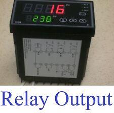 PID Programmable Temperature Time Controller Control Ramp Soak Kiln 50 Setpoints