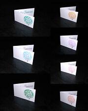 10 bigliettini bomboniere confetti ALBERO DELLA VITA - matrimonio battesimo