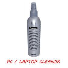 DETERGENTE per PC/Laptop: 250ml Scudo Proteggi Schermo SPRAY di rimozione della sporcizia del monitor ()