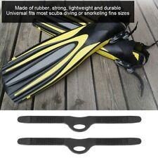 KEEP DIVING 2Pcs Adjustable Scuba Diving Snorkeling Swimming Fins Flippers Strap