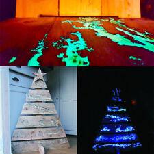 Pigmento additivo polvere luminescente fluorescente si illumina al buio 5 colori