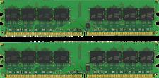 4GB (2X2GB) DESKTOP MEMORY  PC2-5300 667MHZ 1.8V UNBUFFERED DDR2 240 PIN DIMM