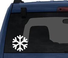 Snowflake Pattern #1 - Winter Art Christmas Decoration - Car Tablet Vinyl Decal