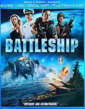 Battleship (Blu-ray/DVD, 2012, 2-Disc Set, UltraViolet; Includes Digital Copy)