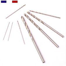 Forets HSS droits de 0.5 à 3.0mm