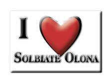 CALAMITA LOMBARDIA FRIDGE MAGNET MAGNETE SOUVENIR LOVE SOLBIATE OLONA (VA)